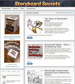 Storyboarding Tutorials Blog by shermcohen