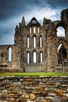 Whitby Abbey - cathedral ruins by Yupa