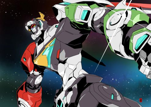 VOLTRON Legendary Defender by the-hary