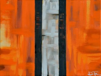 Cleveland Browns Abstract by Fruksion