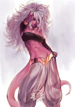 Evil Android 21 by aoxenuk