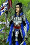 Elven Herald Colored by AngelaSasser