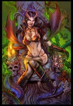 Succubus commiss by WacomZombie