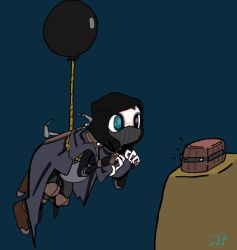 Balloon Thief by MilkToothCuts
