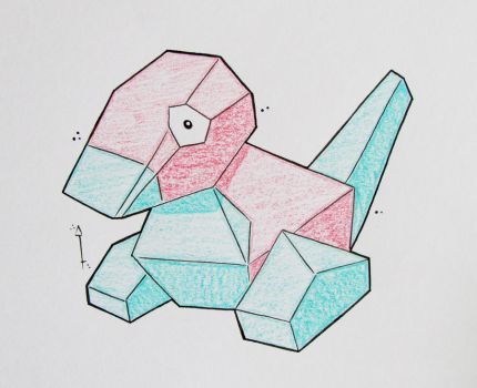Porygon by Hurek