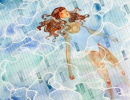 In the swimming pool by 29chelizi