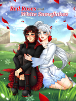 Commission: Red Roses and White Snowflakes Cover by manu-chann