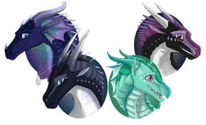 Birthday Headshots by RaintheDragoness12