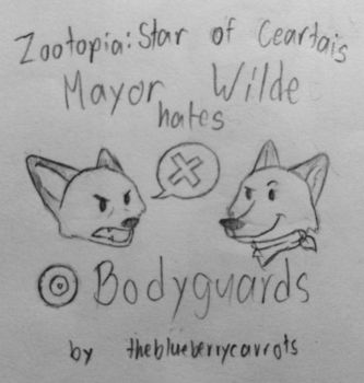 Mayor Wilde hates Bodyguards page 1 by crewefox