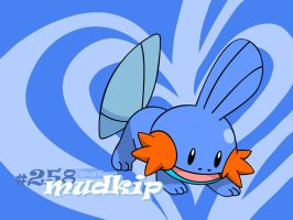 Mudkip Vector Wallpaper by TheIronForce