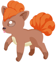 037- Vulpix by MacabreHouse