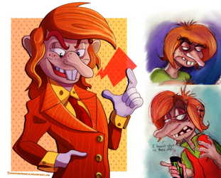 Crash - Successful and Less Successful Willie by Turquoisephoenix