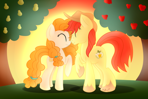SPOILER!!! The Perfect Pear (Speedpaint included) by vcm1824