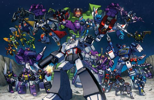 decepticons 1985 by Dan-the-artguy