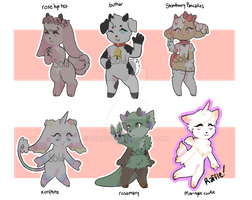 !! RAFFLE CLOSED !! [ADOPTS CLOSED] by serrisu