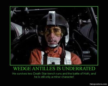 Wedge Antilles and Star Wars by Trotsky17