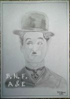 Charles Chaplin by BNFlores