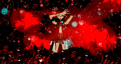 [MMD] Seeing Red by justcatx3