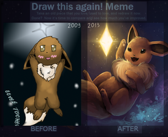 2009 VS 2013 by Kalinel