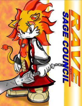Rave the Lion- Sage Council by AxlZX456