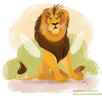 Cecil the Lion by kiki-doodle