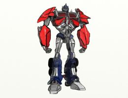 TFP Optimus Prime by Crosshairs001