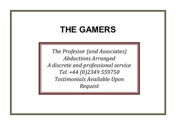 The Gamers 1 by xtcgm