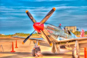 Wings of Freedom Tour Planes - Betty Jane 2 by tjohare