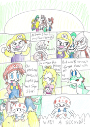 The Origin of Mario Party Page 1 by Bomberdrawer