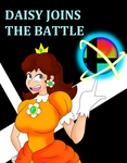 Daisy in Smash Bros Ultimate by madworld-guy