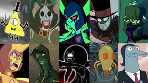 Modern TV Show Villains by Evanh123
