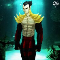 Phoenix Namor by Cahnartist