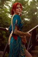 Triss Merigold from The Witcher:Wild Hunt by ZyunkaMukhina