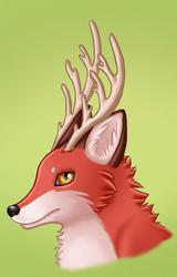 Antlers by VulpineFlame