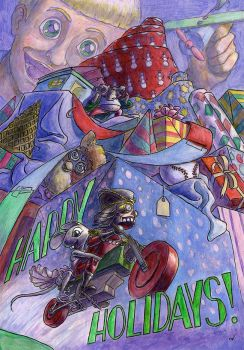 Running Off with the Nutcracker by CrazyChucky