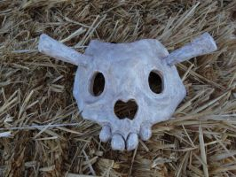 Skull Mask Finished! by meanlilkitty