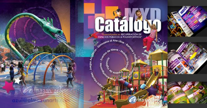 Cover Playgrounds Catalog by azularts