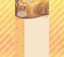 Autumn Layout by Hrasulee