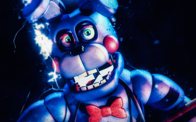 Cinema4D FNAF - Rockstar Bonnie by xXBeteNoireXx