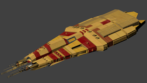 Independent Warship Kronos by wbyrd