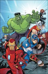 Avengers by Red-J