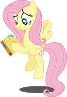 Fluttershy and Her Box by BobtheLurker