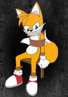 Tails chairtied 2 (Coloring) by TailsModernStyle