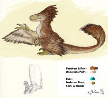 Feathered Raptor Guide for Plush by Dreamspirit