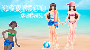Summer CDMU Pack  - By Ginna Deyal  by GinnaDeyal