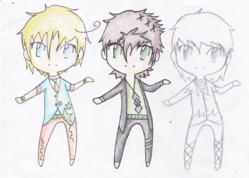 male chibi adopts 1 left! by Whalen504