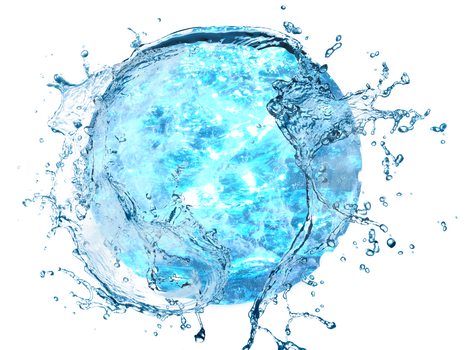 Water-Ball by OmicronGuy