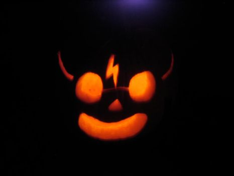 Jack-O-Lantern by Night by Ashriel-kid-of-Voldy