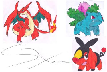 My next drawings 9 (Mis siguientes dibujos 9) by Silverxtreme56