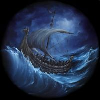 Viking Longboat by crazycolleeny